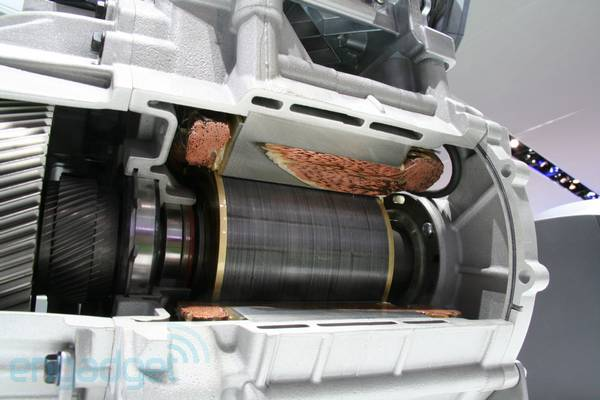 Ford Focus Electric Motor Exposed