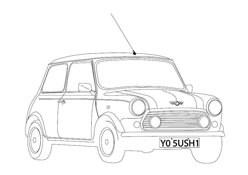 Steveos Blog: One more drawing (mini cooper)