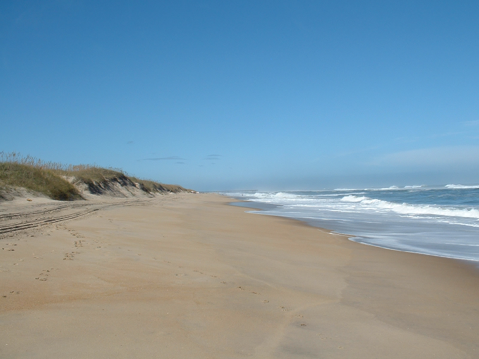 New Beach In The Outer Banks
