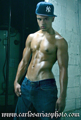 David Dust Featured Model Kevin Vasquez