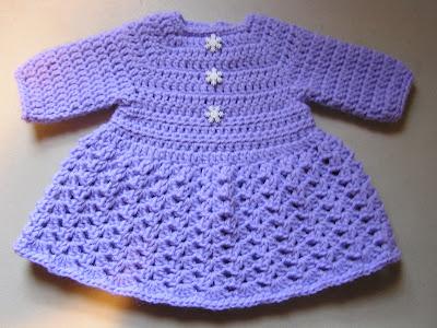 1480b2457c9b4 Baby Dress   Sweater  14. This is the Winter dress pattern ...