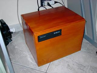PC Salotto con Case in Legno
