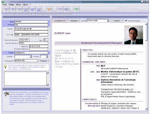 logiciel cvitae 2.1.0