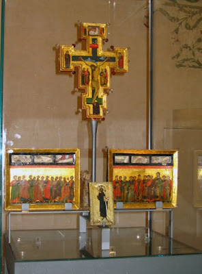 Crucifix and Icons - Spoleto 13th Century