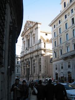 San Andrea delle valle facade