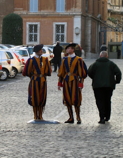 Again with the Swiss Guards