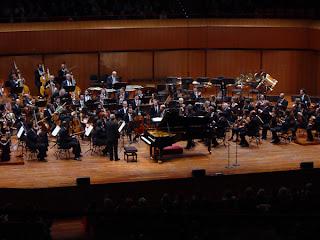Maurizio Pollini and the Santa Ceceila Orchestra