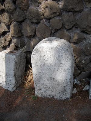 Forgotten tombstones