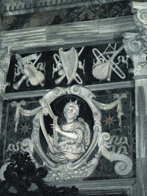 Bas Relief - King David
