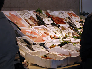 Fish stalls