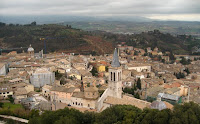 Spoleto from the Rocca