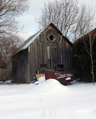The barn next door