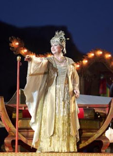 Giovanna Casolla (Turandot) photo by Corrado Maria Falsini