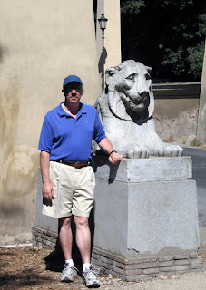 Laurent with a Lione