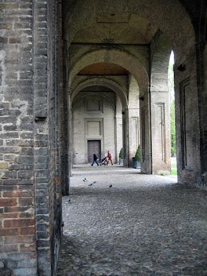 Palazzo Pilotta Arcade