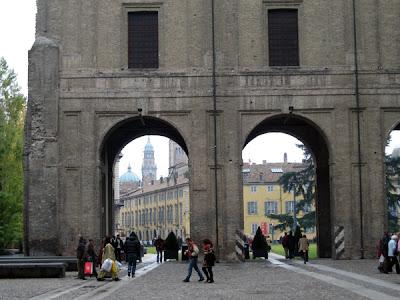 Palazzo Pilote Arches