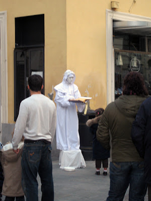 A Street Mime