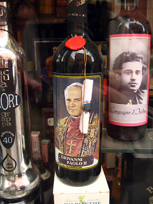 A Very Unusual Wine Label