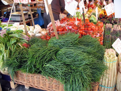 Bundles of agretti