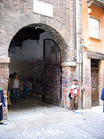 Entrance to the Casa Capuleti
