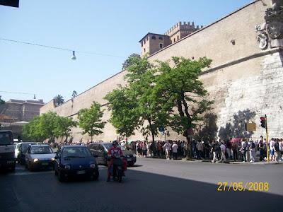 Vatican Museum line up