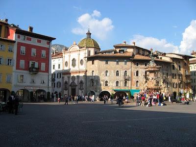 Piazza Duomo in Trento