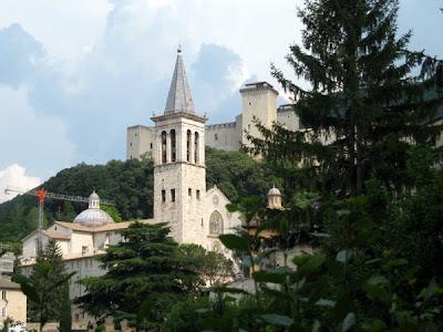 Duomo and Rocca - Spoleto