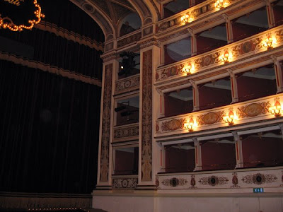Auditorium of the Teatro Nuovo