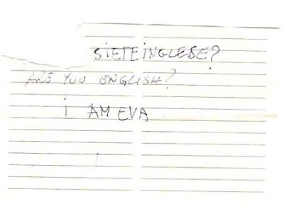 Eva's mash note