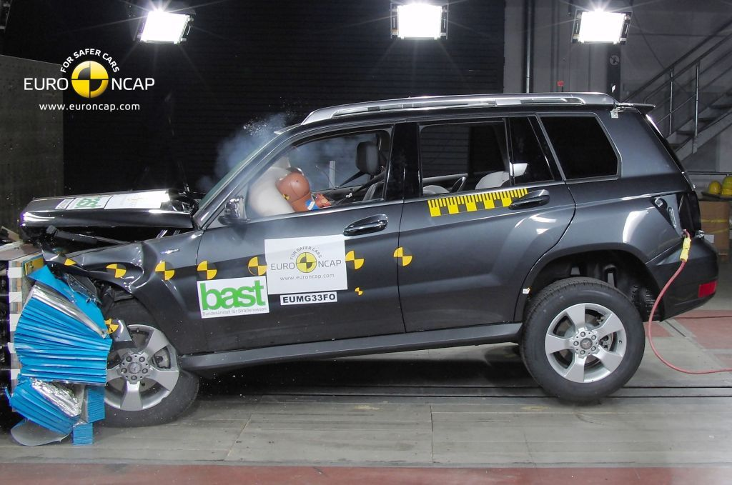 Athens Car Blog Crash Test Mercedes Benz Glk 2009