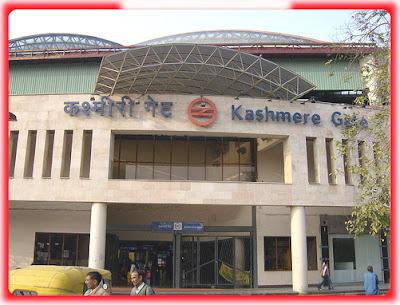 Kashmere Gate Metro Station