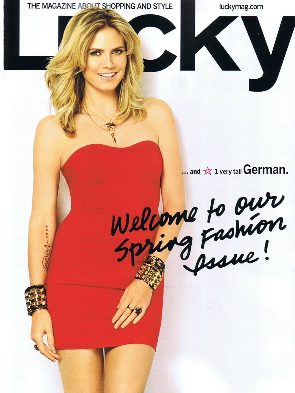 Lucky Magazine May 11: RAW Information Group: LUCKY JESSICA WINZELBERG / LUCKY
