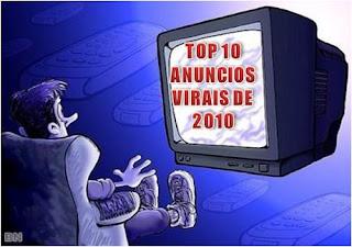 Os 10 anúncios virais mais criativos e inovadores de 2010