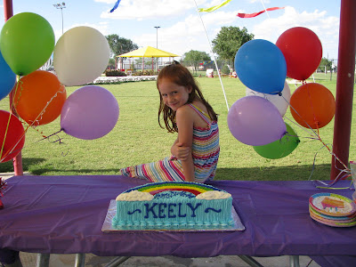 birthday party at the park