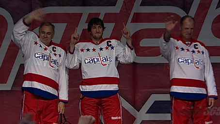 2cb28db64bc4a The Capitals unveiled their Winter Classic Jerseys at this weekend s  Capitals Convention. The look is a throwback to the original jerseys from   74 to  95 ...