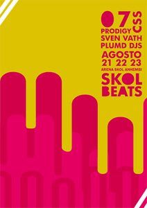 Cartaz da edição 2006 do Skol Beats