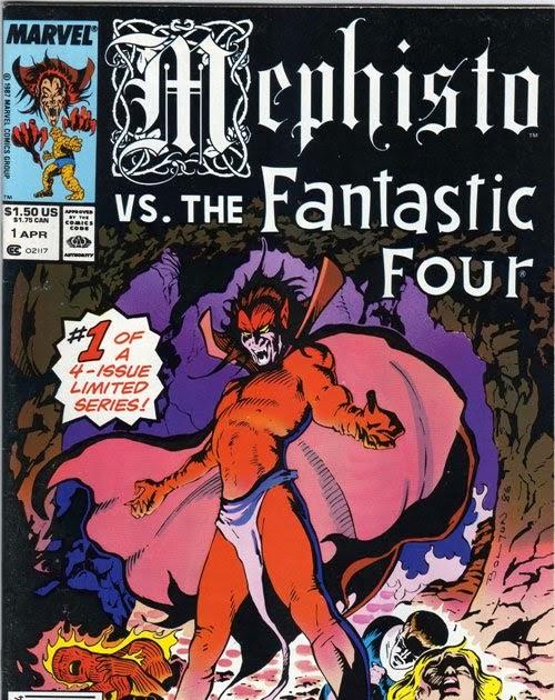 ad9aee8136 Marvel Comics of the 1980s: 1987 - Mephisto Vs …
