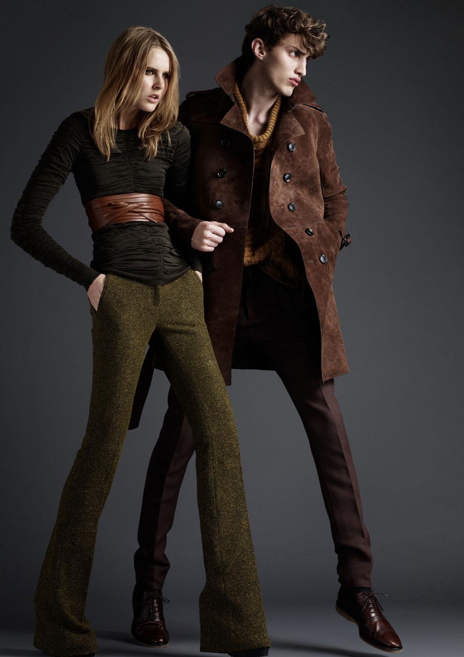 Burberry Prorsum Runway London Fashion Week Aw14: Dandy Bohemian: Burberry Prorsum Menswear Pre-Collection