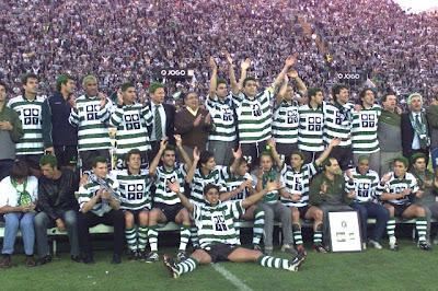 Resultado de imagem para sporting 2001 2002