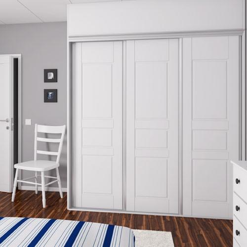 dörrar till pax garderober