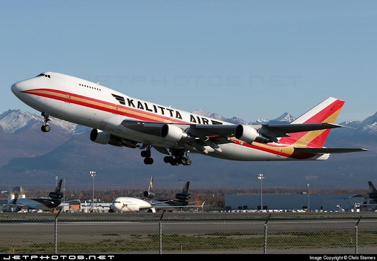 Kalitta Air Boeing 747 Freighter
