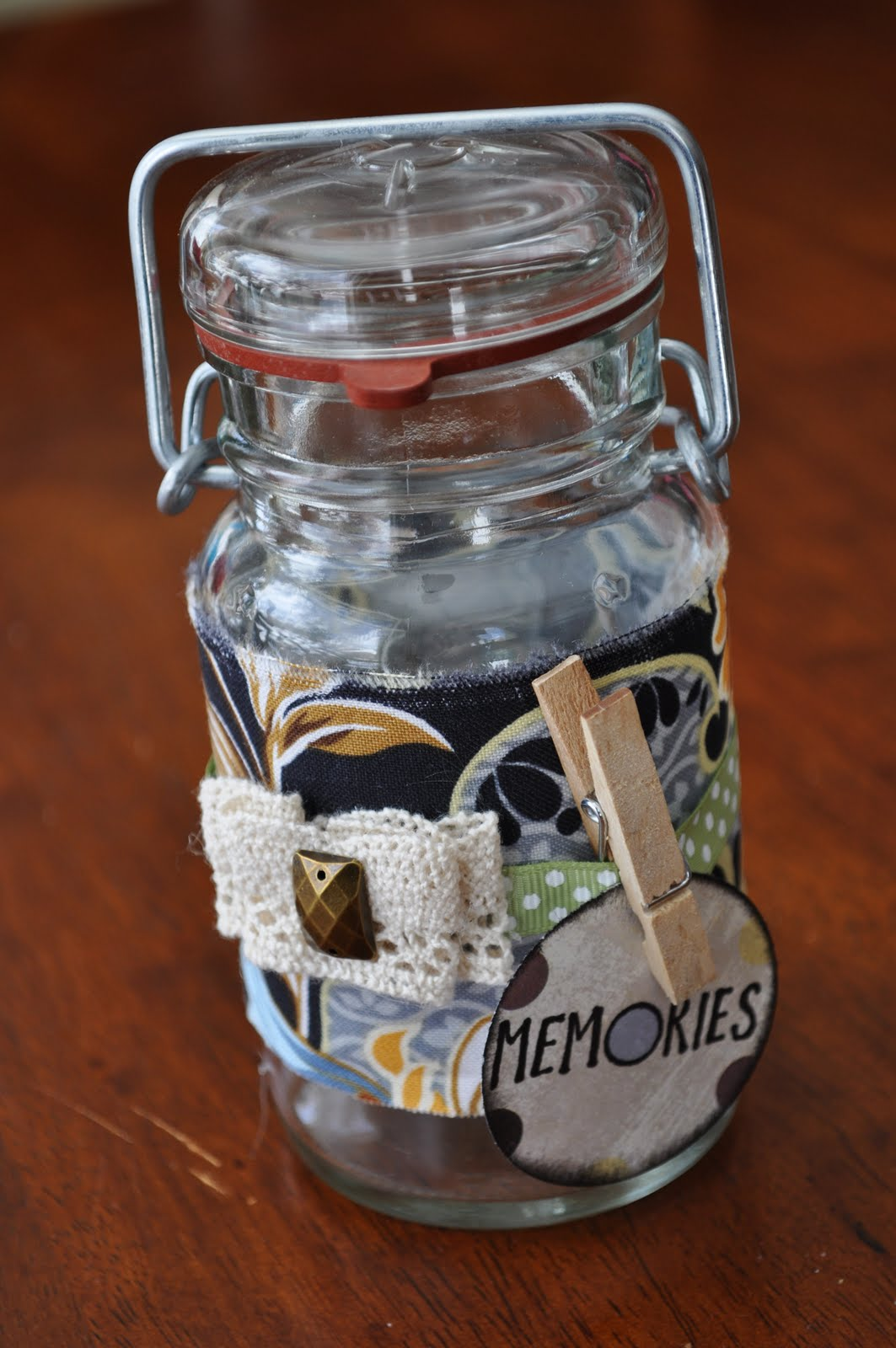 Memory Jar Infarrantly Creative