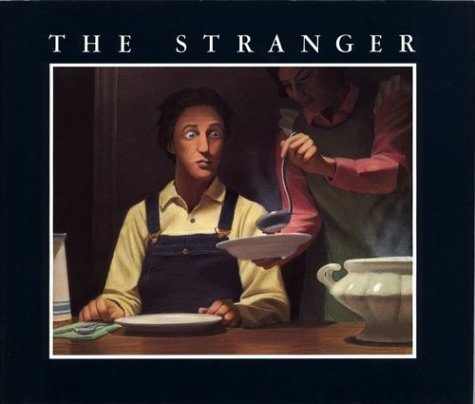 An overview of the setting of a story in a stranger is watching