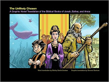 """The Unlikely Chosen"" a graphic novel translation of Jonah, Esther and Amos"