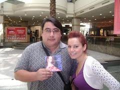 KARITO Y YO EN SANTIAGO DE CHILE...HAZ CLICK EN IMAGEN VER VIDEO CANCION