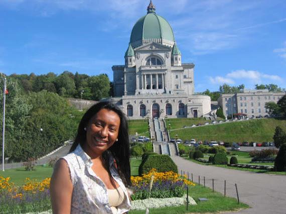 ESTERCILIA EN EL ORATORIO DE SAN JOSE (MONTREAL-CANADA-SEP. 2007)