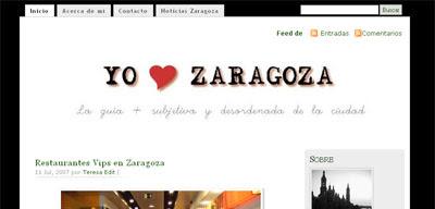 Yo quiero Zaragoza
