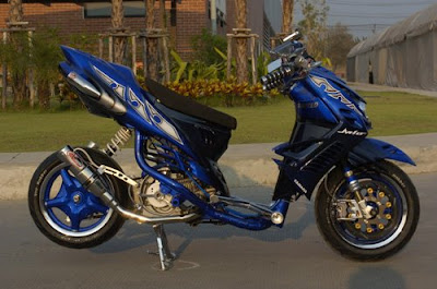 Yamaha  Mio 2010 modifies