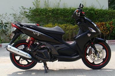 motorcycle ros yamaha nouvo elegance modifies. Black Bedroom Furniture Sets. Home Design Ideas
