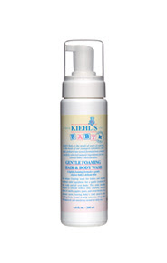 kiehl's gentle foaming baby wash: strong enough for a baby, easy enough for a husband